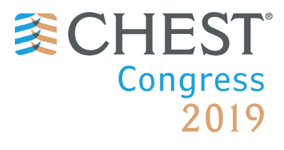 CHEST Congress 2019